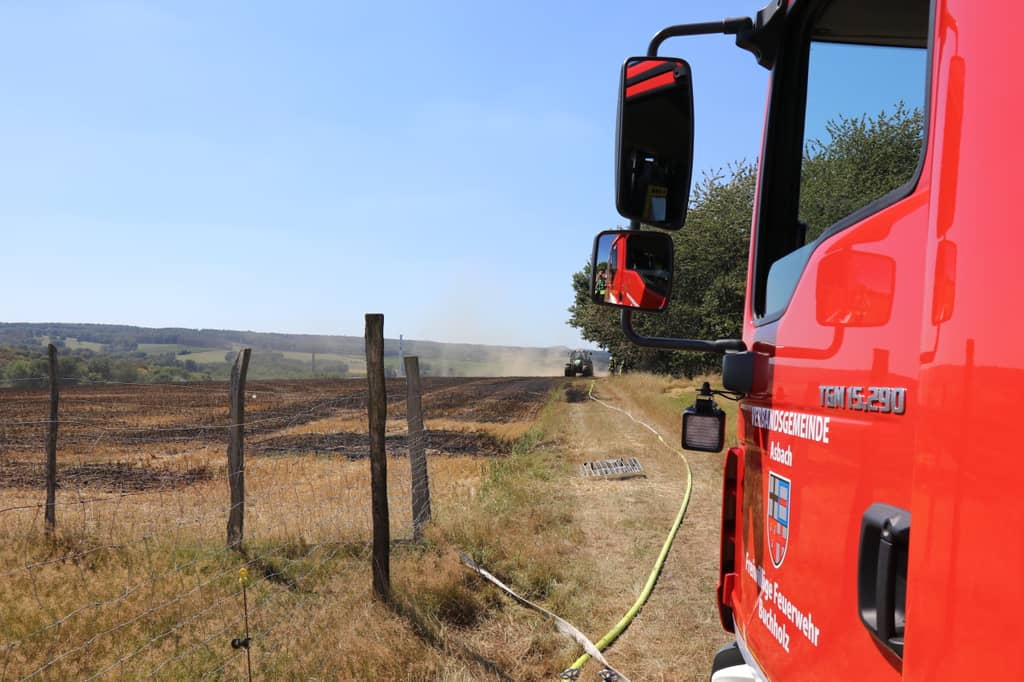 Brand in Jungeroth