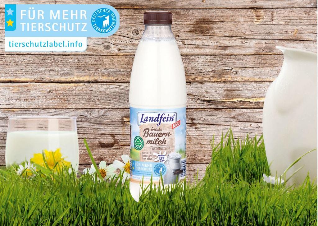 Norma-Milch mit Tierschutzbund-Siegel