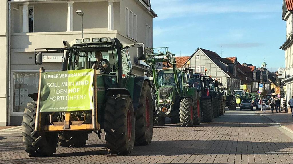 Demo in Lüchow (Wendland)