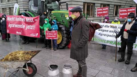 Protest in Sachsen